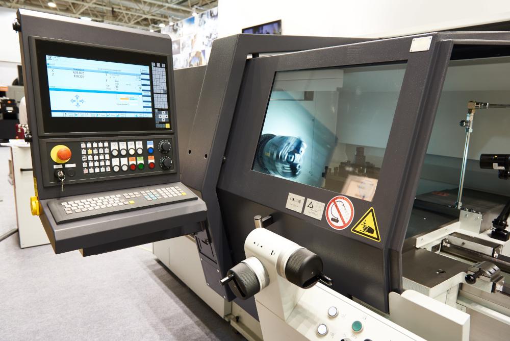 nowoczesna maszyna CNC